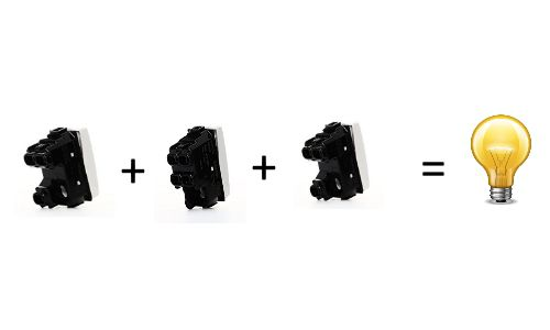 Simboli Schema Elettrico Unifilare : Deviatore e invertitore : come collegarli elettricasa